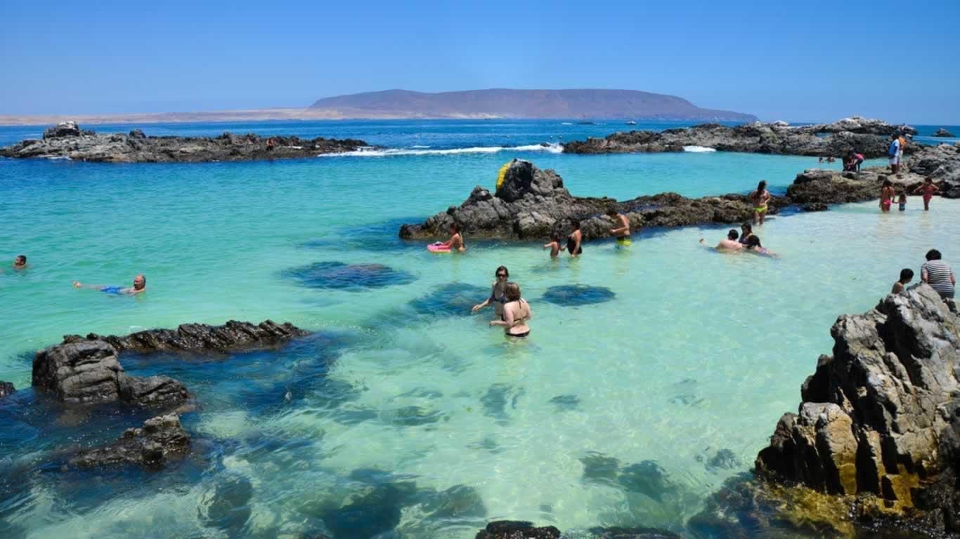 Playa Las Piscinas, Bahía Inglesa